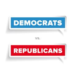 US Vote label vector