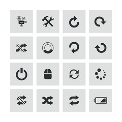 dj icons universal set