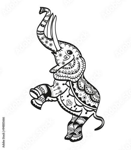 Indian Elephant Vector | www.imgkid.com - The Image Kid ...