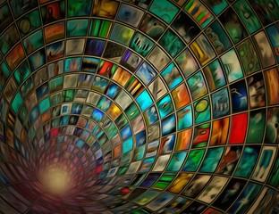 Tunel obrazów 3D