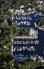 Windmill Harbor Hilton Head Aerial Shot