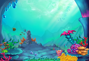 Underwater World - Scene Design