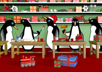 Christmas Penguin Workshop