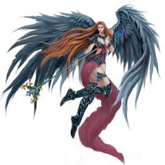 Black Angel - Character Design