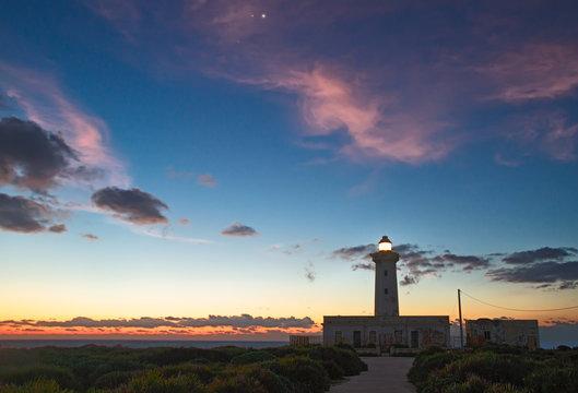 Venus Jupiter Mars Conjunction - Dawn at Plemmirio Lighthouse 2