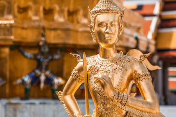 Kinnara, Thai mythical creature, Thailand Grand Palace