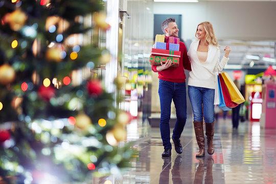 Buying Christmas gifts