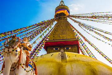 Bouddhanath Stupa,Kathmandu,Nepal