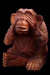 Statuette of a monkey