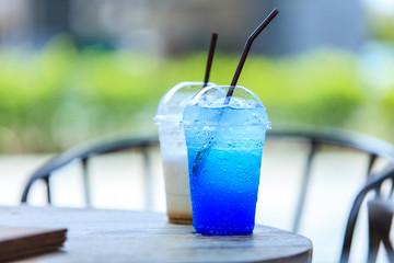 Blueberry soda Ice