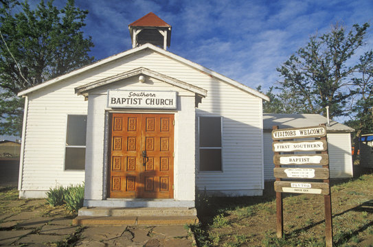 A Southern Baptist Church in New Mexico