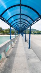 Walkway in Thong Sala pier, Koh Phangan