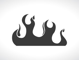 wide flame icon