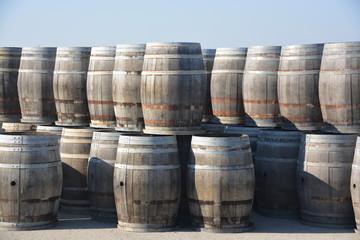 barricas de madera para vino
