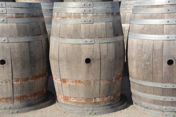 barriles de madera para vino