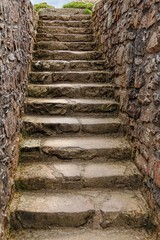 staircase in old castle