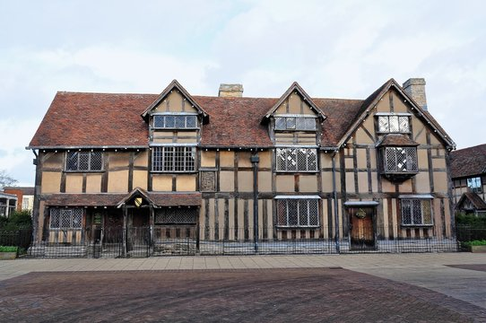 The Birthplace of William Shakespeare on Henley Street in Stratford upon Avon, Warwickshire, England, UK