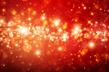 Shiny stars, Christmas fantasy background