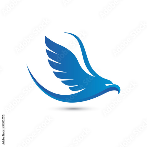 """flying blue eagle logo"""" stock image and royalty-free vector files"""