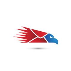 Eagle Fast Mail Logo