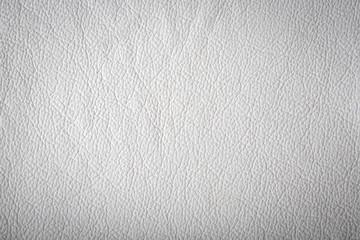 Weiße Lederoberfläche