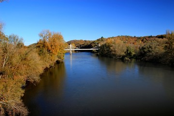 Paysage de rivière.