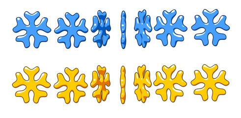 different rotation stars