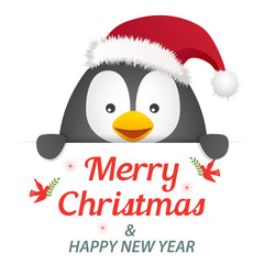 Penguin Christmas Greeting