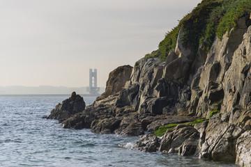 Costa de La Coruña, España.