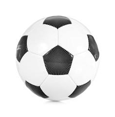 Klassischer Fußball schwarz/weiß