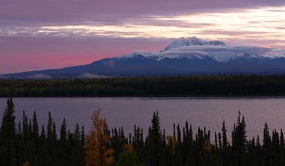 Willow Lake Southeast Alaska Wrangell St. Elias National Park