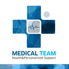 Cross Logo Creative Medicine