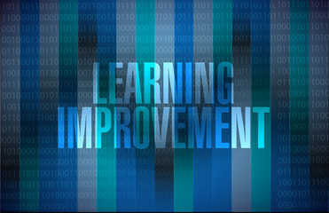 Learning improvement binary sign concept