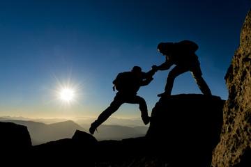 dağcı yardımlaşma,dayanışma ve birlikteliği