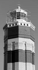 Beautiful brick lighthouse