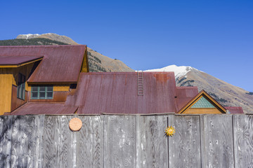 Structures in Silverton, Colorado