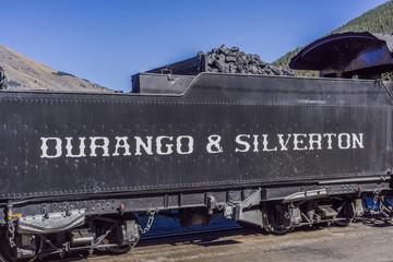 Coal Car Durango & Silverton Train