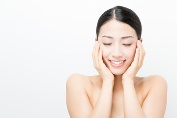 young asian woman beauty image