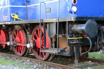 Wall Mural - Alte Diesellokomotive