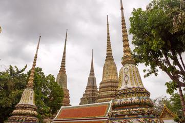 Thai temple,Stupa