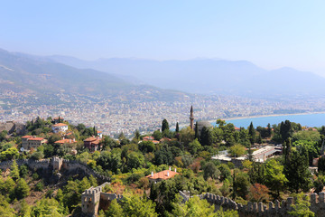 Turkish resort town of Alanya