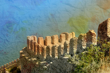 Turkish resort town of Alanya