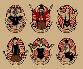Pattern of the circus.