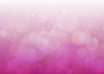 white Light and Blurred halation pink colored background vector