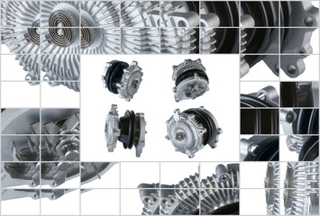 Many pictures of engine Cooling Fan Clutch