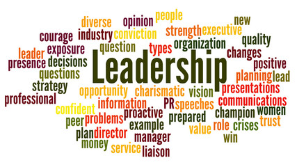 Leardership Word Cloud