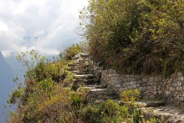 Machu Pichu chemin de l'inca