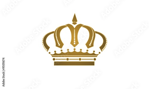 vector golden royal crown a symbol of power and crowns caps king