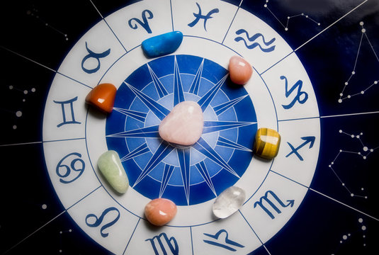 Healing stones and astrology