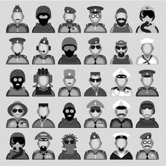 Military avatars